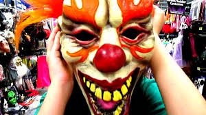 scary clown halloween mask scary clown youtube