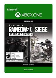 siege xbox one tom clancy s rainbow six siege customary version xbox one
