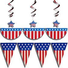 prextex 4th of july patriotic decorations pack