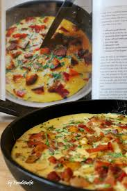 a feast for the eyes country french omelet bacon u0026 potato frittata