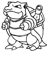 pokemon blastoise coloring pages for kids gnr printable pokemon
