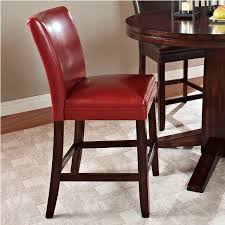 stools design awesome red counter height stools terrific red