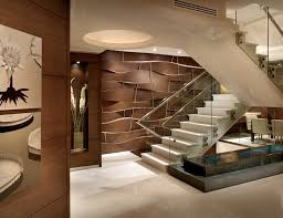 Apartment Stairs Design Acoya Http Www Levinecalderin Staircase Modern Miami