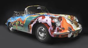 porsche 356c the story behind janis joplin u0027s psychedelic porsche is very rock