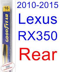 lexus rx 350 sticker price amazon com 2010 2015 lexus rx350 wiper blade rear goodyear
