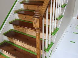 Best Paint For Stair Banisters How To Take Carpet Off Stairs And Stain And Paint Will Do Some