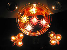 Home Decoration Ideas For Diwali Foot Lights Living Room With Christmast Tree Stair Joyfull