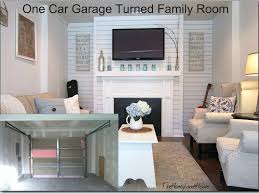 convert garage to family room add living spaceconvert cost space