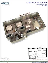 guest house floor plans bedroom tiny square feet or less fantastic