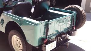 kaiser willys jeep 1966 jeep cj5 youtube