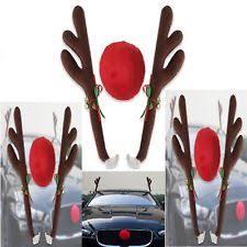 reindeer ears for car christmas car decorations ebay