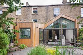 london house extensions reveal the line between old and new the