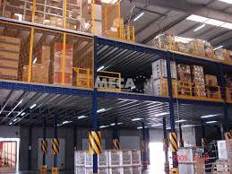 industrial mezzanine meca storage systems