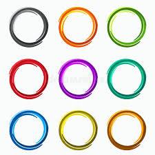imagenes abstractas con circulos círculos abstractos del color coloca elementos del logotipo de la