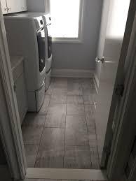 york vinyl plank flooring laundry room modern with tile
