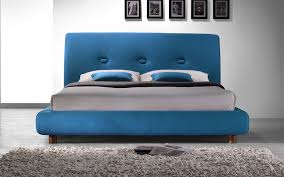 Turquoise Bed Frame Time Living Sache Fabric Bed Mattress