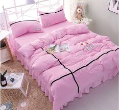 soft bed sheets new solid color simple bed four sets of ultra soft water wash bed