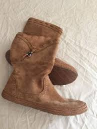 womens brown suede boots size 9 nwob ugg australia s laurin 1005453 suede boots size 9 color