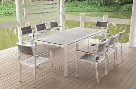 good aluminum table and chair on home decorating ideas with