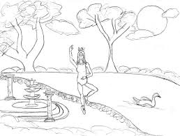 ballet series coloring pages