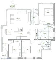most efficient floor plans efficient house plans energy efficient homes floor plans