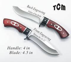Groomsmen Knives Engraved 12 Groomsman Groomsmen Gifts Personalized Hunting Knives