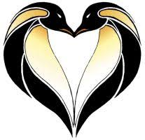 tribal penguin love tattoo design in 2017 real photo pictures
