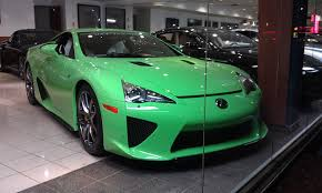 lexus green the lexus lfa is the 400 000 supercar nobody talks about doug