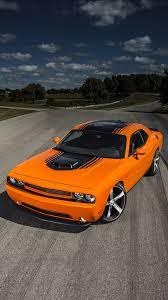 Dodge Challenger Orange - orange dodge challenger nexus 5 wallpapers nexus 5 wallpapers and