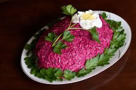 russian herring under fur coat salad shuba