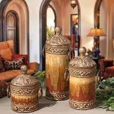 tuscan tuscan canister set tuscan home the o