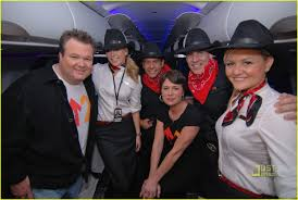 Stonestreet Eric Stonestreet Stands Up To Cancer With Virgin America Photo