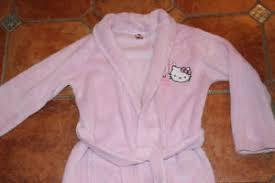 robe de chambre hello robe de chambre 8 9ans hello peignoir polaire toute