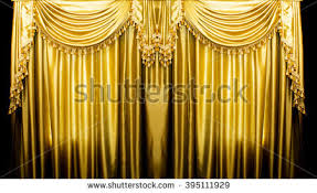 Gold Satin Curtains Gold Curtain Stock Images Royalty Free Images U0026 Vectors