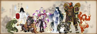 japanese mythology picture japanese mythology image