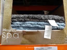 Microfiber Bathroom Rugs Carpet Deco Microfiber Bath Rug