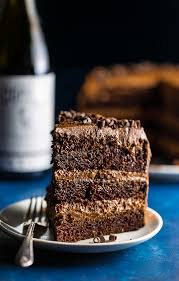 brown cake wine chocolate cake baker by nature