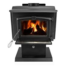 pleasant hearth 1 200 sq ft epa certified wood burning stove