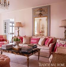 Capricious Pink Living Room Fresh Design  Extremely Charming - Pink living room design