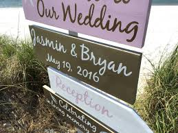rose gold wedding decor beach welcome wedding sign starfish gold