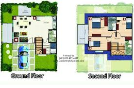 Houses For Sale With Floor Plans Alexandra At Lancaster Philippines House For Sale In Lancaster