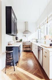 am駭agement cuisine en longueur aménager une cuisine en longueur 20 exemples pour vous inspirer