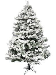 flocked antarctic pine christmas tree 1 83m christmas trees