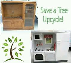 Tv Cabinet Kids Kitchen 33 Best Upcycling Play Kitchens Images On Pinterest Play