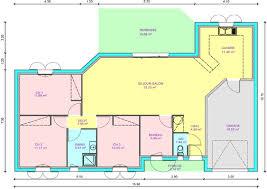 plan maison de plain pied 3 chambres plan maison 3 chambres 1 bureau 4 de plain pied systembase co
