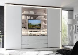 Schlafzimmerschrank Versch Ern Kleiderschrank Tv Halterung Kleiderschrank Mit Tv Element