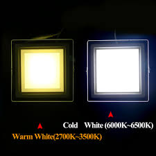 aliexpress com buy 6w 12w 18w dimmable led panel light square