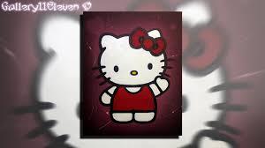 hello kitty painting art youtube haammss