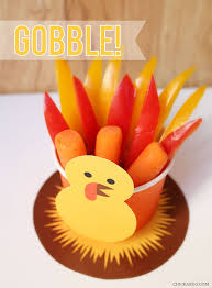 free printable turkey snack make treat cups for thanksgiving