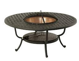wood burning fire table newport cast aluminum wood burning fire pit cast aluminum fire